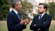 Leonardo DiCaprio, Barack Obama