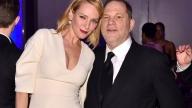 Uma Thurman e Harvey Weinstein