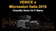 Sony CineAlta Venice a Microsalon 2018