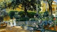 Alcazar Garden di Siviglia
