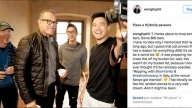 Tom Hanks sull'Instagram di Philip Wang