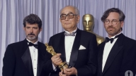 Akira Kurosawa premiato agli Oscar da George Lucas e Steven Spielberg