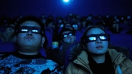 Spettatori cinesi al cinema