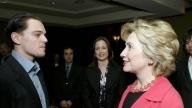 DiCaprio Clinton