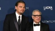 Leonardo DiCaprio e Martin Scorsese