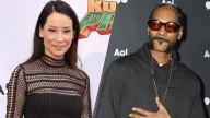 Lucy Liu e Snoop Dogg