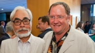 John Lasseter e Hayao Miyazaki