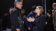 George Clooney e Jodie Foster sul set di Money Monster