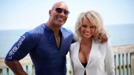 Pamela Anderson e Dwayne Johnson
