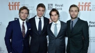 Il cast di Posh all'ultimo Festival di Toronto