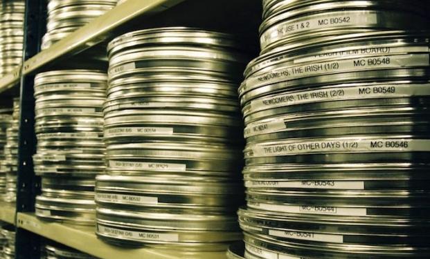 Un archivio di pellicole