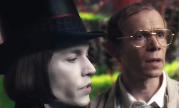 Johnny Depp in La fabbrica di cioccolato