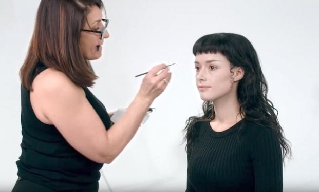 Il make-up di Sofia Boutella in The Mummy - La Mummia