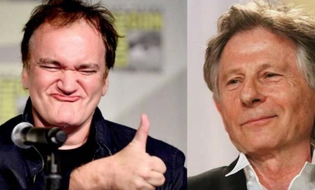 Quentin Tarantino e Roman Polanski
