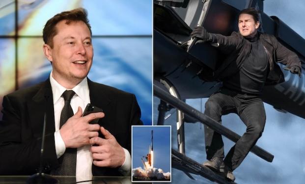 Tom Cruise, Elon Musk