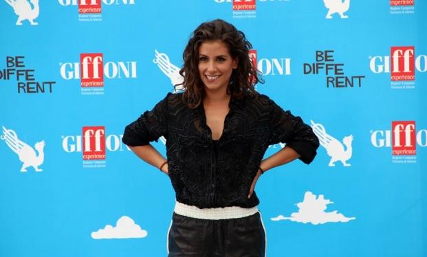 Giulia Michelini al Giffoni Film Festival