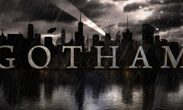 """il logo della serie """"Gotham"""""""