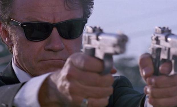 Harvey Keitel in Le iene di Quentin Tarantino