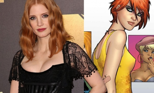 Jessica Chastain, Painkiller Jane