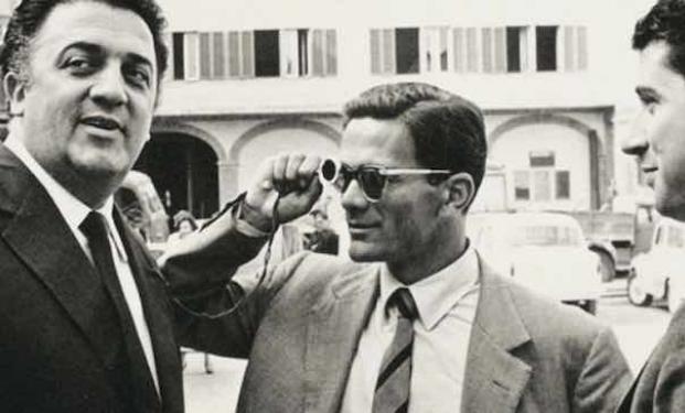 Pasolini con Fellini