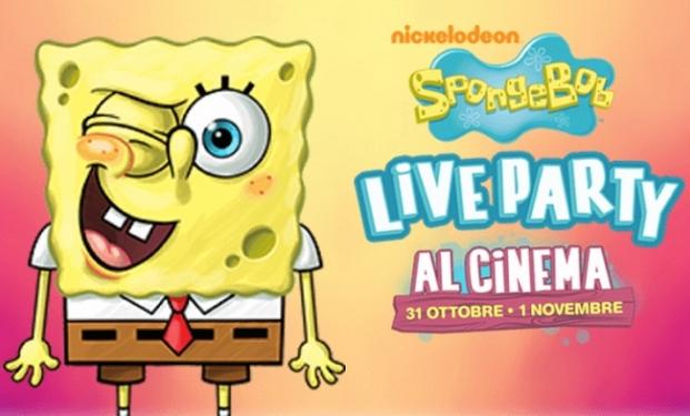 spongebob live party