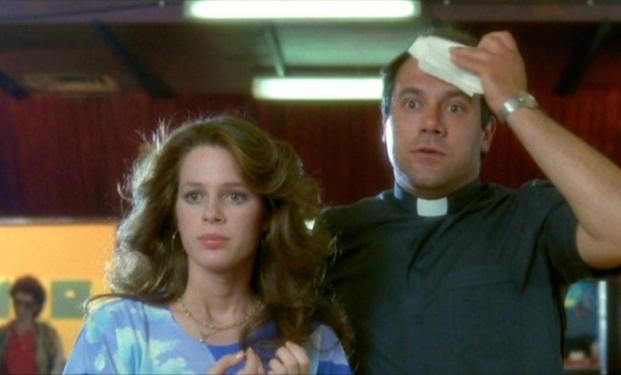 """Carlo Verdone e Natasha Hovey in """"Acqua e sapone"""""""