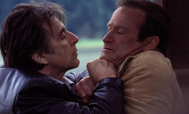"""Al Pacino e il compianto Robin Williams in """"Insomnia"""""""
