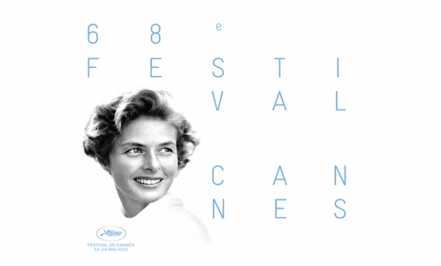 "Ingrid Bergman nel poster di ""Cannes 2015"""
