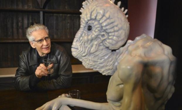 David Cronenberg e uno dei suoi mostri
