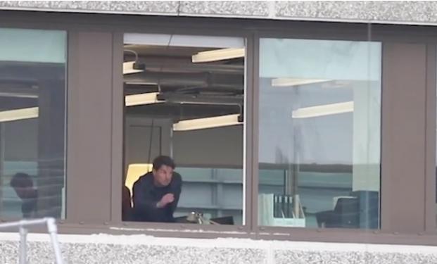 Tom Cruise sul set di Mission: Impossible 6