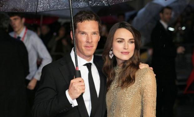 Benedict Cumberbatch e Keira Knightley