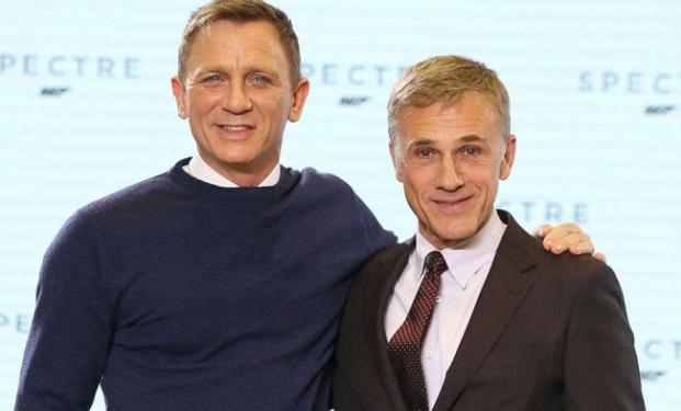 Christoph Waltz e Daniel Craig