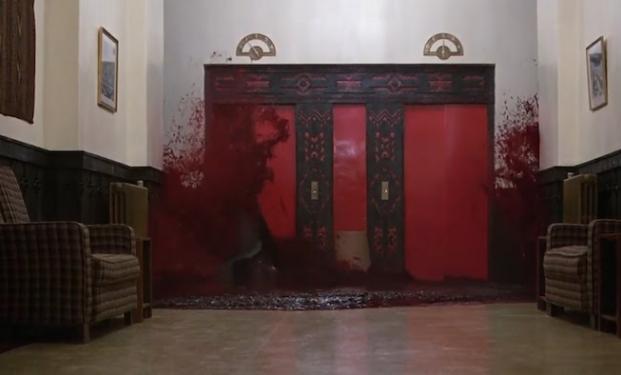 sangue falso in Shining