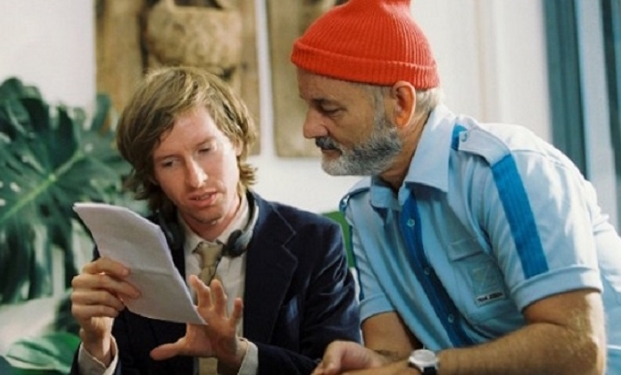 Wes Anderson e Bill Murray