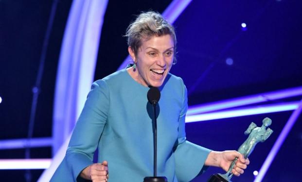 Frances McDormand vincitrice Screen Actors Guild