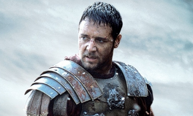 Russell Crowe in Il Gladiatore
