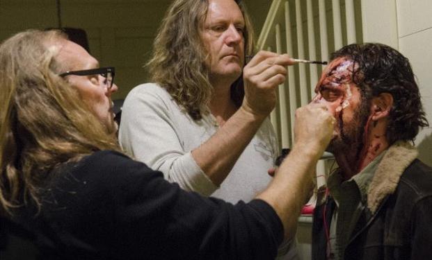 il set di The Walking Dead 6