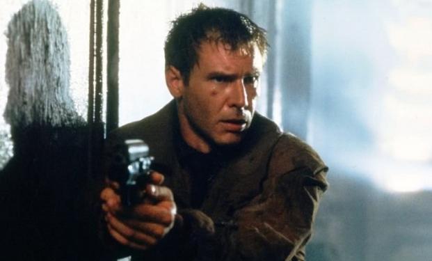 Harrison Ford in Blade Runner di Ridley Scott