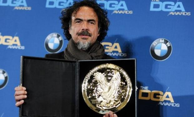 Alejandro González Iñárritu riceve il premio alla Regia DGA