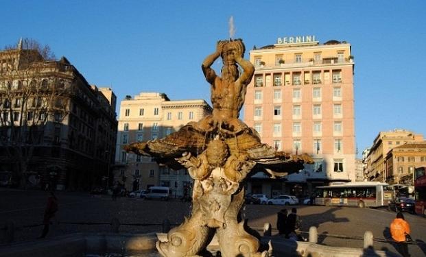 L'Hotel Bernini di Roma, sede dell'Italian Film Boutique