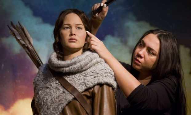 Jennifer Lawrence al Madame Tussauds