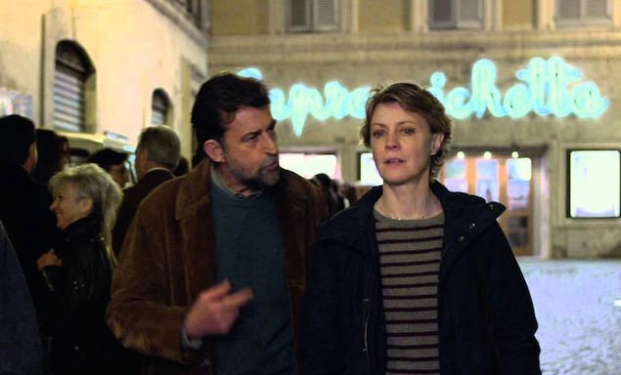 "Nanni Moretti e Margerita Buy in ""Mia Madre"""