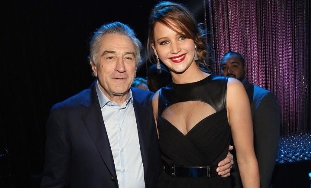 Robert De Niro e Jennifer Lawrence