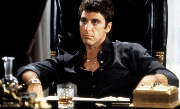 "Al Pacino in ""Scarface"""
