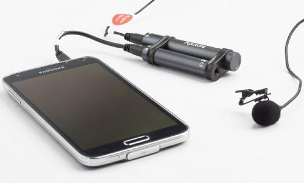 smartphone con microfono