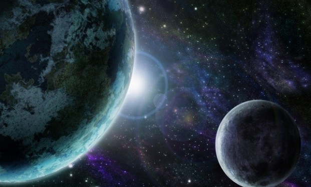 Il vasto spazio cosmico