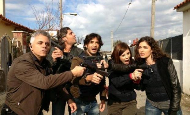 Armi sul set: Squadra Antimafia