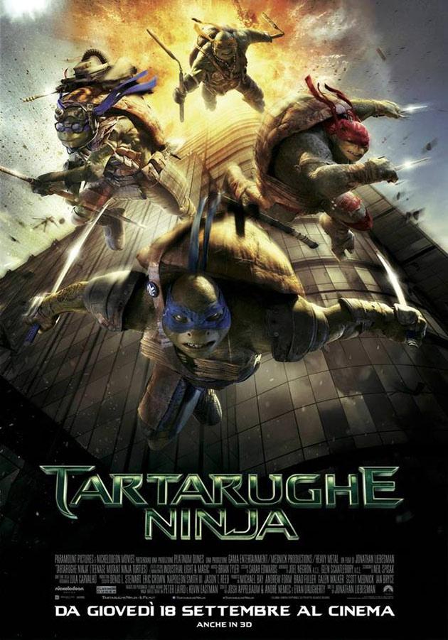 Locandina di Tartarughe Ninja