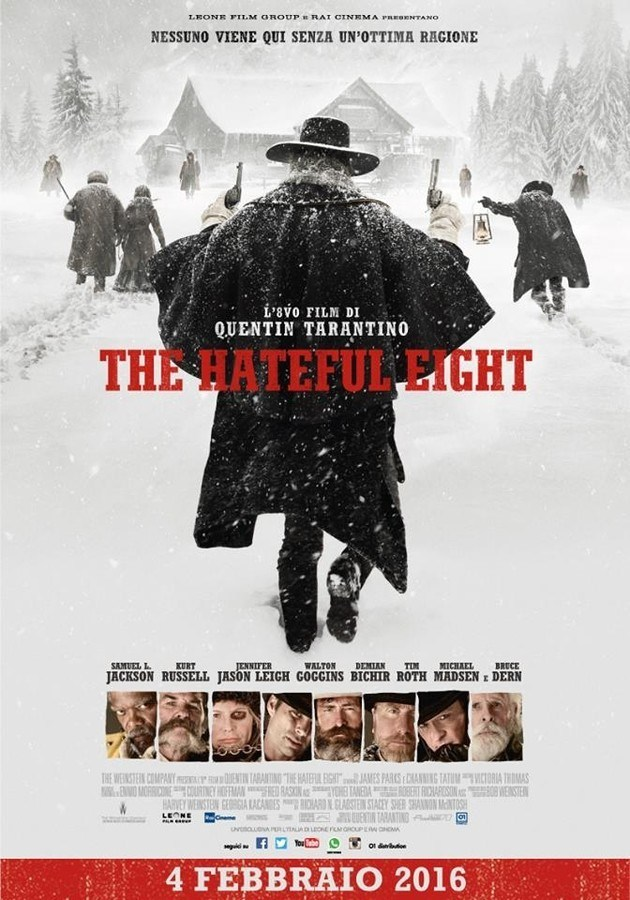Locandina di The Hateful Eight Quentin Tarantino