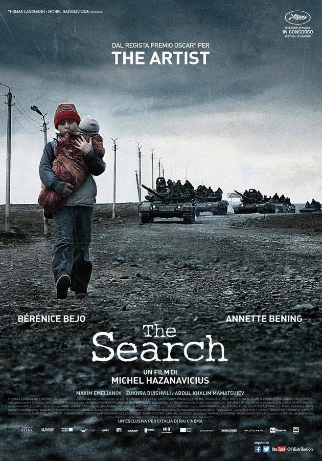 Locandina italiana di The Search